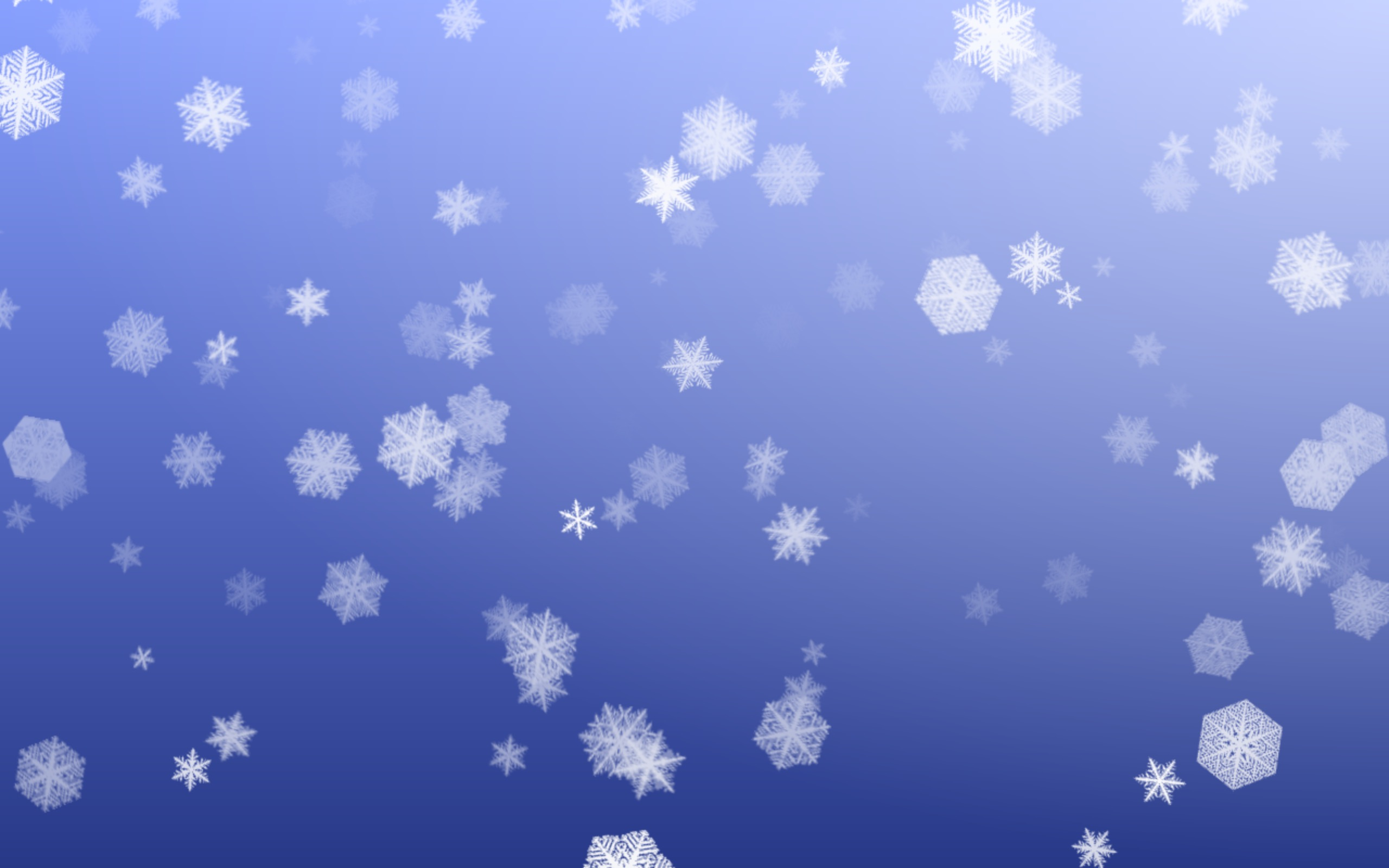 LotsaSnow - A Simple Falling Snow Screensaver for Mac OS X