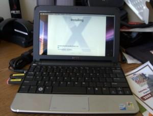 Dell Mini 10v Mac OS X