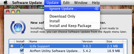ignore-software-update