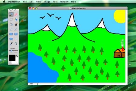 paintbrush the ms paint clone for mac