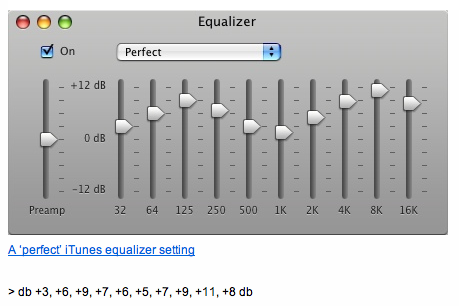 Itunes Equalizer The Best Itunes Equalizer Settings Osxdaily