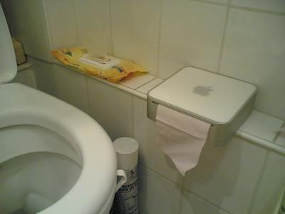 mac toilet paper