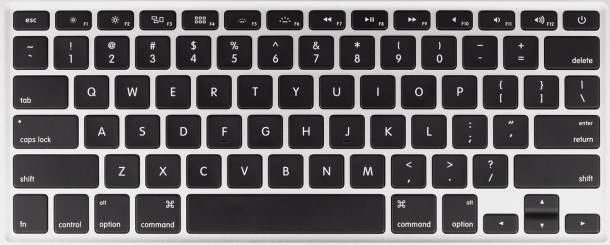 Apple black keyboard
