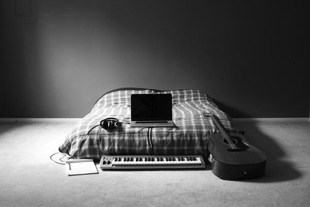 barebones music studio