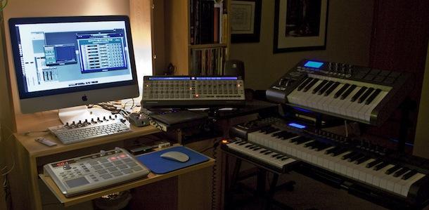 imac music studio setup