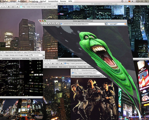 mac ghostbusters genie effect