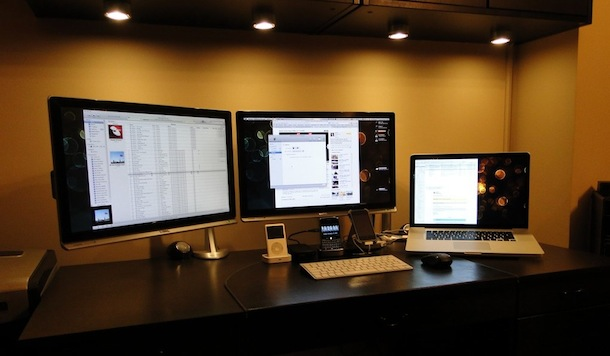 Mac Setups Macbook Pro With Dual Cinema Displays