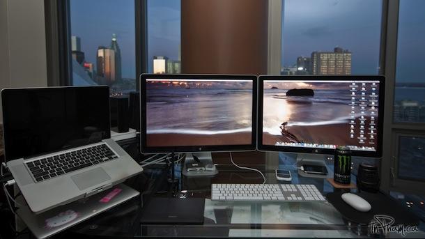 Dual Displays on a MacBook Pro