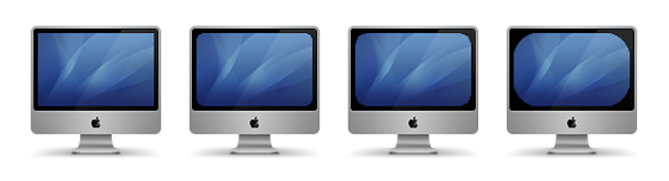 Displaperture rounded screen corners mac