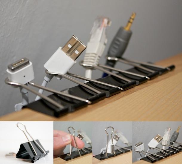 cheap cable organization