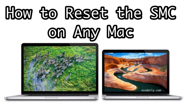 How to Reset SMC on a Mac