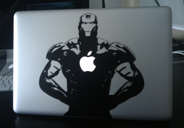 ironman macbook pro