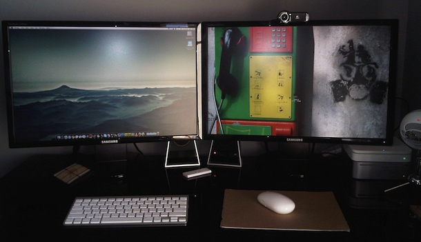 mac mini dual displays
