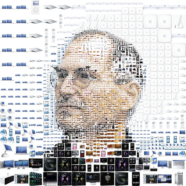 steve jobs collage 1