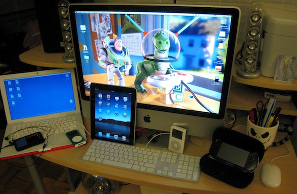 macbook imac and ipad