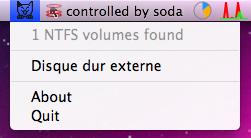 ntfs mount mac from menubar