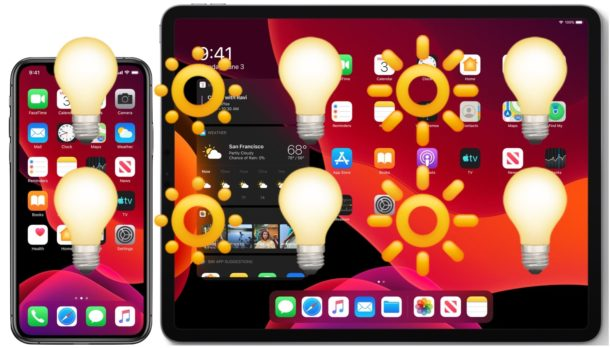 How to disable auto brightness on iPhone and iPadOS