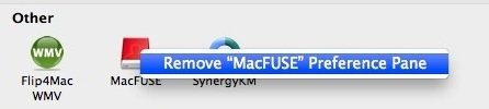 remove system preference mac os