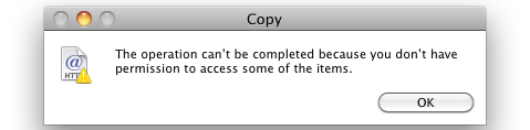 smb write access problem mac os x 10.6.3
