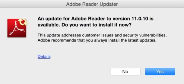 Disable Adobe Update Manager Popups