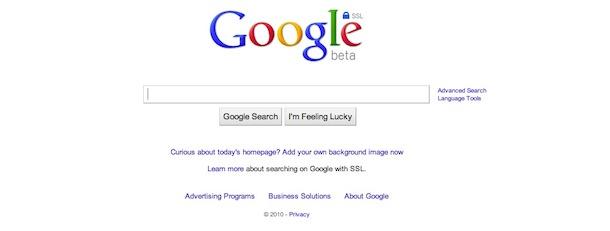 google ssl no background pics