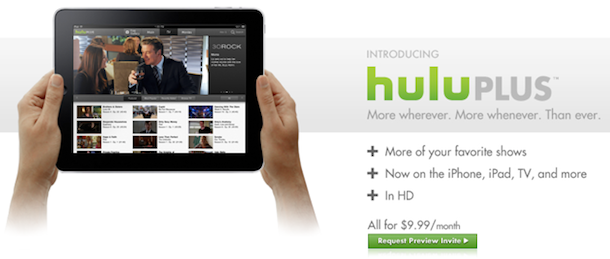 hulu for ipad iphone