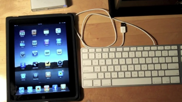 iPad USB keyboard