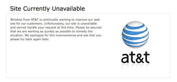 iphone 4 att website down