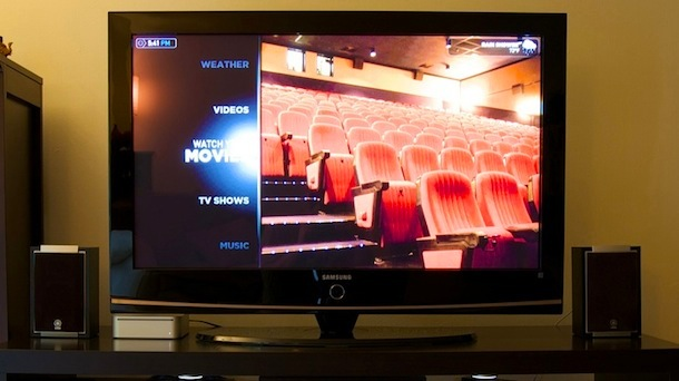 mac media center home theater