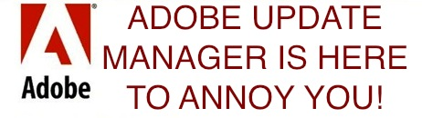 stop adobe update manager mac