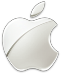 Embossed sheen Apple Logo