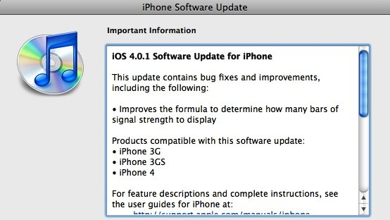 ios 401 update download