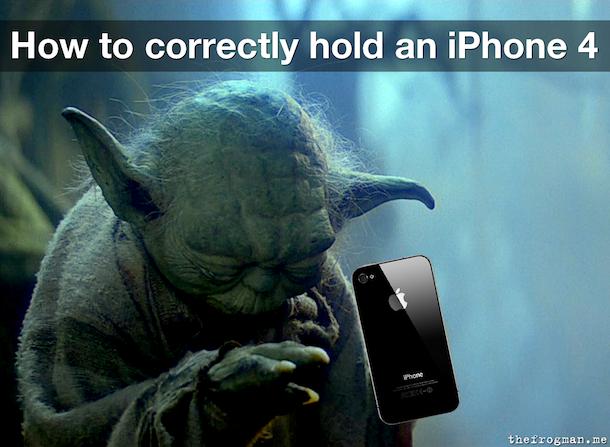 iphone 4 yoda