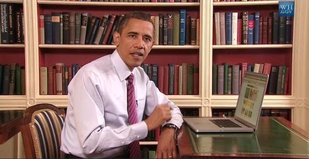 obama uses a mac