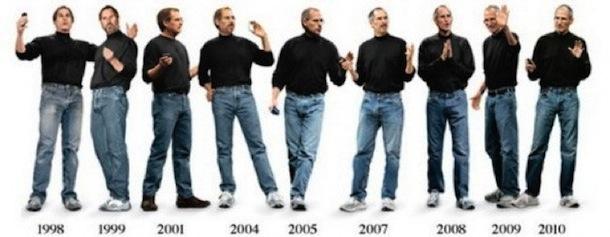 evolution of steve jobs