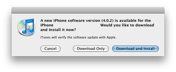 iphone ios 402 update download