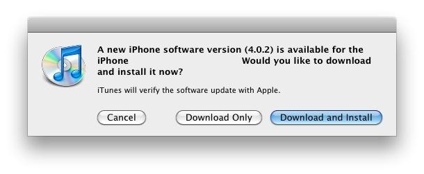 iphone ios 402 update download