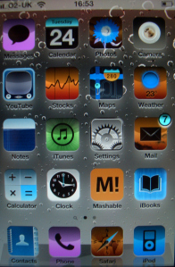 invert iphone display