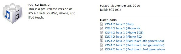 ios 4-2 download available