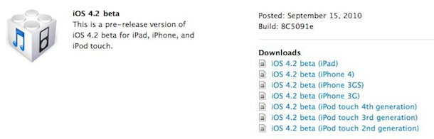 ios 4.2 available download