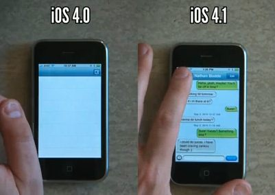iphone 3g and ios4-1 speed