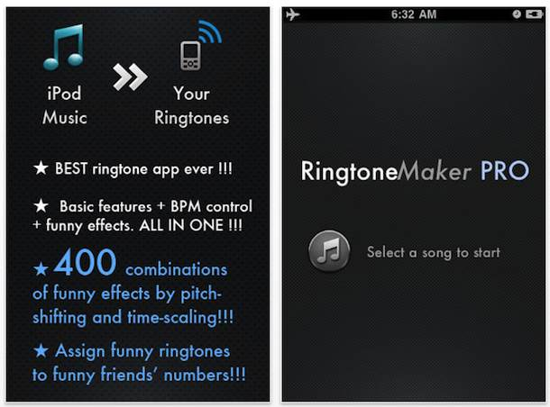 iphone ringtone maker app