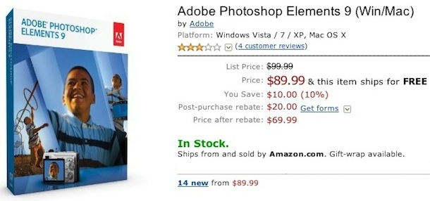 buy photoshop elements 9