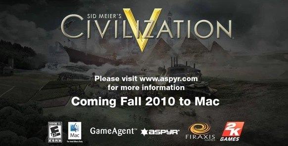 civilization 5  mac release date