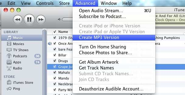 convert wav to mp3 itunes
