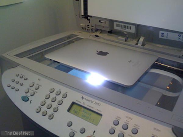 iPad copy machine