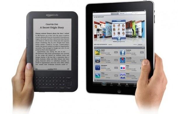 kindle vs ipad ibookstore