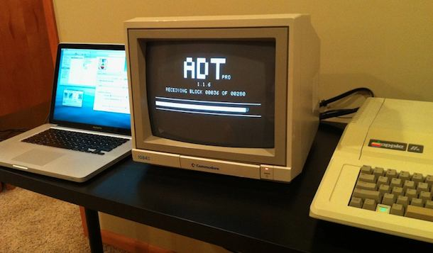 macbook pro and apple ii