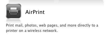 airprint in mac os x 10 6 5