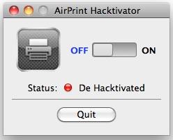 airprint mac printers